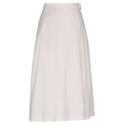 ファビアナフィリッピ FABIANA FILIPPI 7分丈スカート ライトピンク 38 シルク 96% / ポリウレタン 4% 7分丈スカート