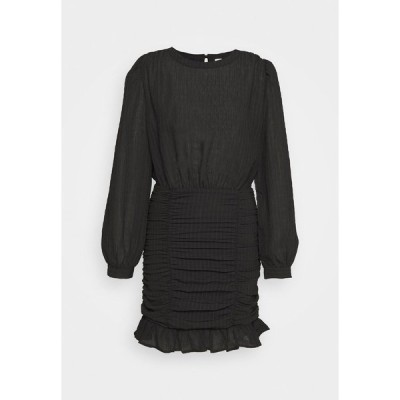 ニリーバイネリー ワンピース レディース トップス RUCHE DRESS - Cocktail dress / Party dress - black