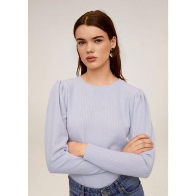 Tシャツ .-- MALVA (パステルパープル)