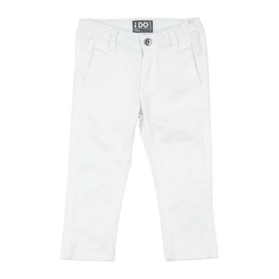 iDO by MINICONF パンツ ホワイト 18 コットン 98% / ポリウレタン 2% パンツ
