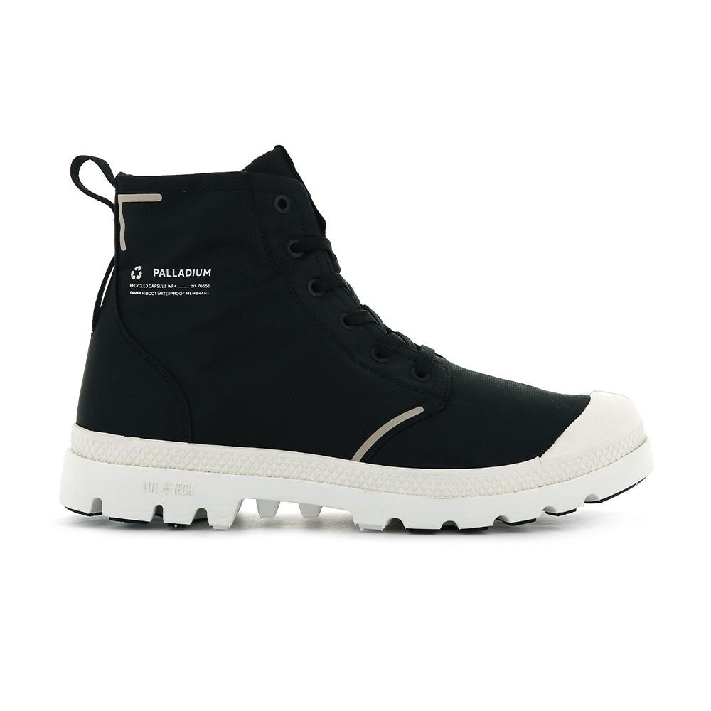 PALLADIUM PAMPA LITE+ RCYCLWP+ 黑白 男女款 防水靴 76656008【Feel 9s】