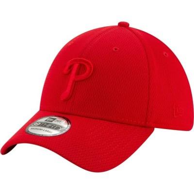 ニューエラ New Era メンズ 帽子 Philadelphia Phillies Red 39Thirty Perftone Stretch Fit Hat
