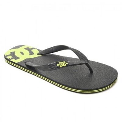 DC SHOES  SPRAY [カラー:ブラック×ライム] [サイズ:26cm (US8)] DM191043 BKI 靴