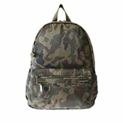 Hedgren Earth Sustainably Made Backpack with Detachable Waistpack, Olive Camo Green