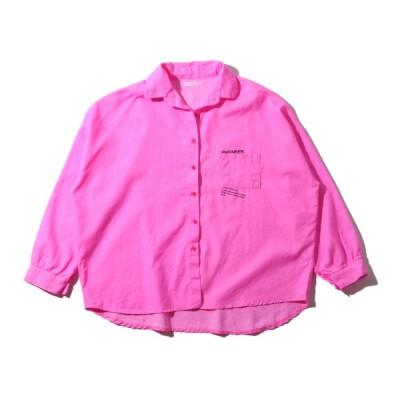 アトモスピンク atmos pink アウター ビビットカラー シャツTX (PINK) 19SU-I