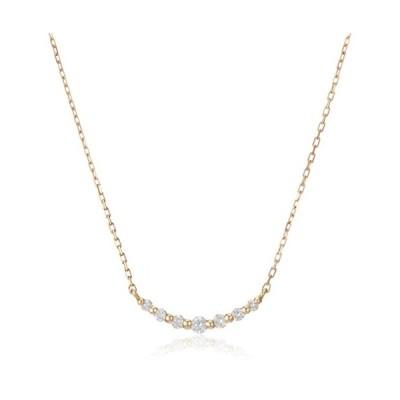 VAヴァンドーム青山 VA VENDOME AOYAMA K18PG スリール ダイヤモンド 0.09ct ネックレス GGVN005740