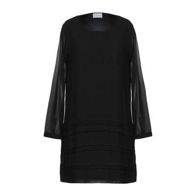 LA KORE ミニワンピース&ドレス ブラック 1 100% ポリエステル ミニワンピース&ドレス