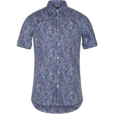 プリモエンポリオ PRIMO EMPORIO メンズ シャツ トップス patterned shirt Blue