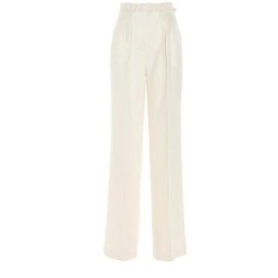 GABRIELA HEARST/ガブリエラハースト White Vargas' trousers レディース 春夏2021 321201LI010101 ju