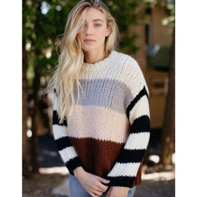 ボルコム VOLCOM レディース ニット・セーター トップス Classy Time Sweater MULTI