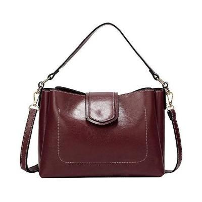 Sun Kea Womens Solid Shoulder Bag Large Ladies Smooth Leather Crossbody Bag