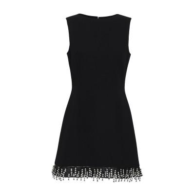 クリストファー・ケイン CHRISTOPHER KANE ミニワンピース&ドレス ブラック 38 ウール 100% ミニワンピース&ドレス