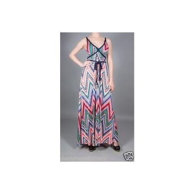 ドレス 海外セレクション T-Bags Tbags Los Angeles Wrap Around Tie Maxi Dress Cami Strap w/Braid Strap
