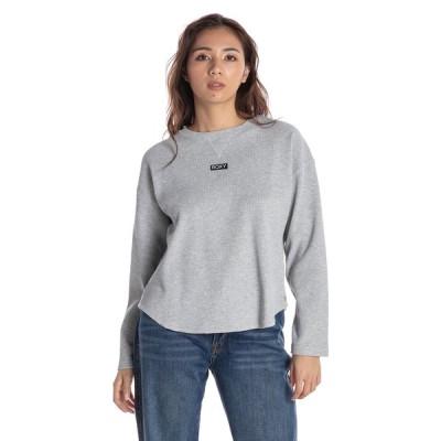 セール SALE セール SALE ロキシー ROXY  ワッフル 長袖 Tシャツ TEA TIME Womens T-shirts