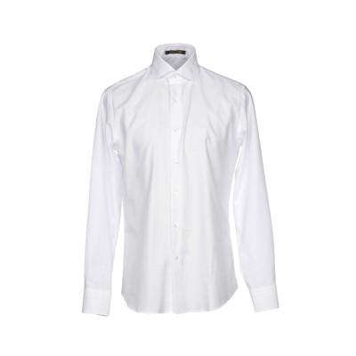 ロベルト カヴァリ ROBERTO CAVALLI シャツ ホワイト 43 コットン 100% シャツ