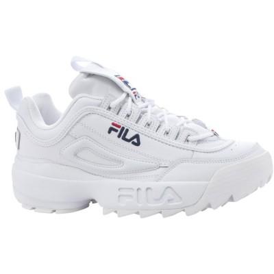 フィラ Fila メンズ スニーカー シューズ・靴 Disruptor II White/Peacoat/Red