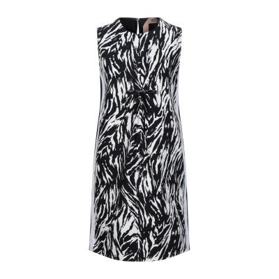 ヌメロ ヴェントゥーノ N°21 ミニワンピース&ドレス ブラック 42 コットン 100% ミニワンピース&ドレス