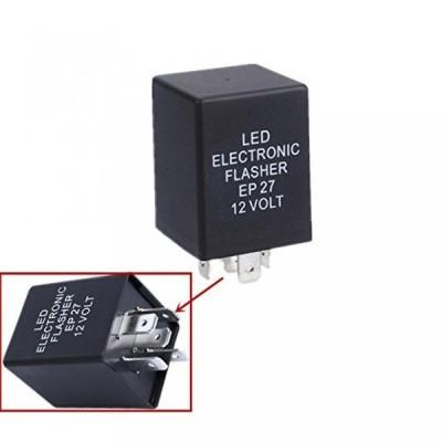 全国配送料無料!Lsgoodcare 5 ピン日 27 話 FL27 LED LED ターン シグナル電球ハイパー点滅フラッシュ デコーダーの負荷等化器 12 v 用電子フラッシャー