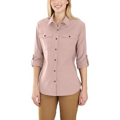 (取寄)カーハート レディース ラギット フレックス ボーズマン シャツ Carhartt Women's Rugged Flex Bozeman Shirt Rose Smoke 送料無料