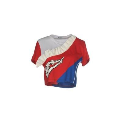 DONDUP Tシャツ  レディースファッション  トップス  Tシャツ、カットソー  半袖 レッド