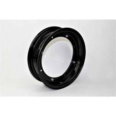 ダックス(DAX) スチール製ホイール ブラック 10インチ 3.25J  MINIMOTO(ミニモト)