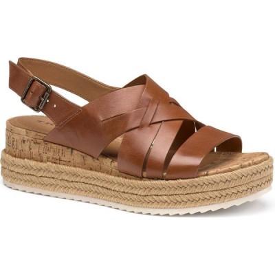 トラスク TRASK レディース サンダル・ミュール シューズ・靴 Randi Sandal Cognac Leather