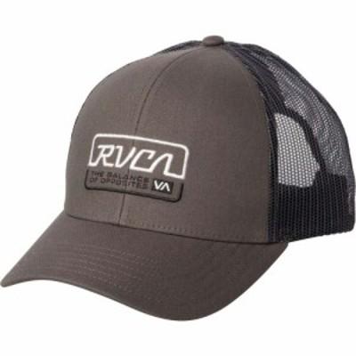 ルーカ RVCA メンズ キャップ トラッカーハット 帽子 Factory Trucker Hat Dark Grey