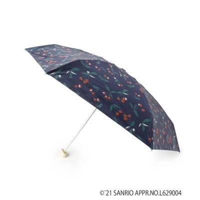 pink adobe(ピンクアドベ) SANRIOCHARA チェリー柄ミニ折り畳み傘