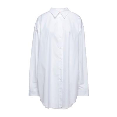 ヌメロ ヴェントゥーノ N°21 シャツ ホワイト one size コットン 100% シャツ