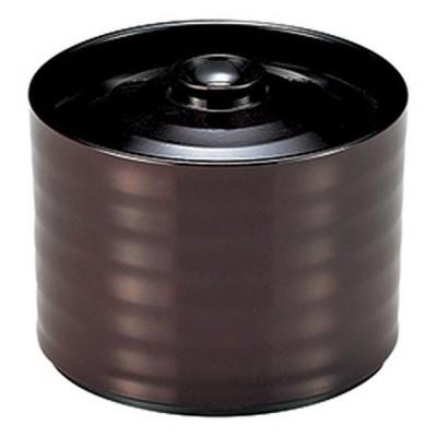 和食器 飯器 / (A)昇月飯器 溜 寸法: φ9.5 x 7.7cm(220cc)