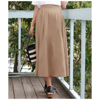スカート 90丈ブロードフレアスカート