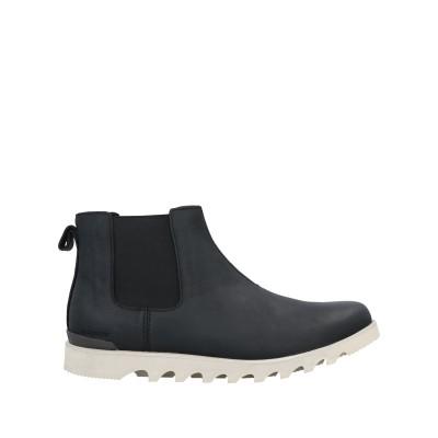 ソレル SOREL ショートブーツ ブラック 10.5 革 / 紡績繊維 ショートブーツ