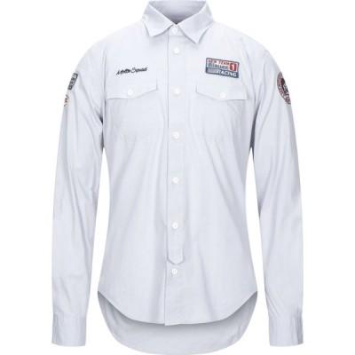 ブラウアー BLAUER メンズ シャツ トップス Solid Color Shirt Light grey