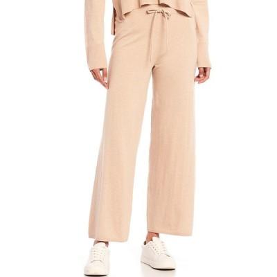 サンクチュアリー レディース カジュアルパンツ ボトムス Essential Knitwear Drawstring Pant Latte Heat
