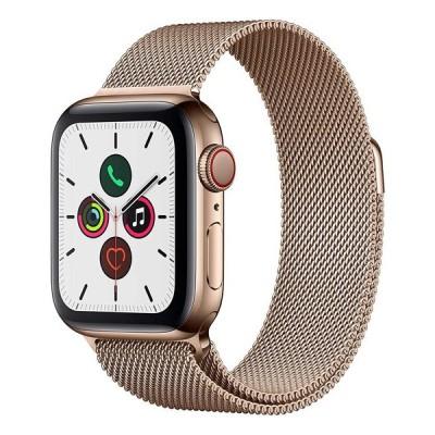APPLE Apple Watch Series 5 GPS+Cellularモデル 40mm MWX72J/A ゴールドミラネーゼループ