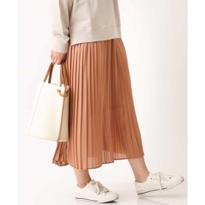 a.v.v / レザー調加工プリーツスカート WOMEN スカート > スカート