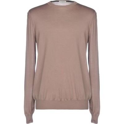 パオロ ペコラ PAOLO PECORA メンズ ニット・セーター トップス sweater Camel