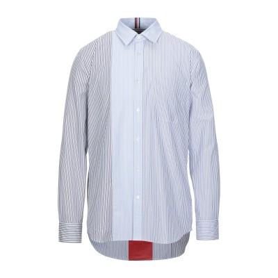 HILFIGER COLLECTION シャツ ブルー S コットン 100% シャツ