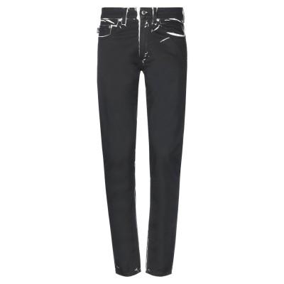 ラブ モスキーノ LOVE MOSCHINO パンツ ブラック 29 コットン 98% / ポリウレタン 2% パンツ