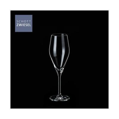 ショットツヴィーゼル SCHOTT ZWIESEL オーディエンス シャンパンEP×6脚セット 1658