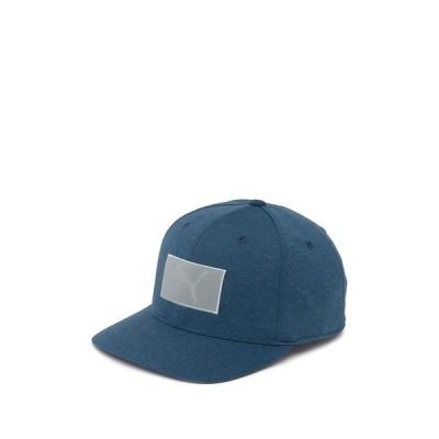 プーマ メンズ 帽子 アクセサリー Green Utility Patch 110 Snapback Cap GREEN