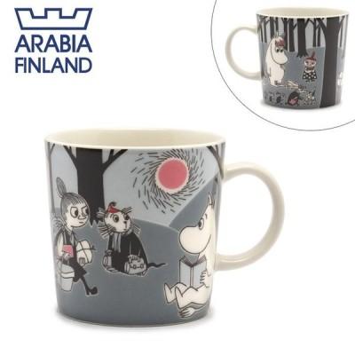 アラビア マグカップ ムーミン マグ 0.3L ARABIA 1006331 ホワイト 白 グレー 雑貨 おしゃれ 可愛い 新生活 母の日