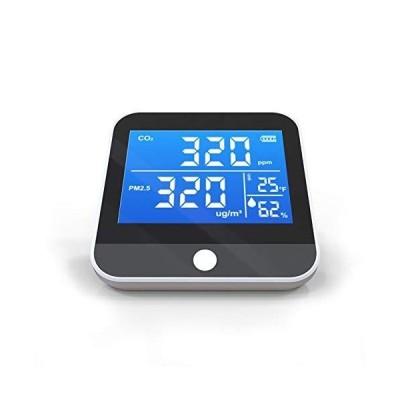 <新品>Luoshan Air Quality Detection, Home Portable Small C O 2 Pm2.5 Pm1.0 Pm10 Air Quality Detector, Suitable for Office/Bedroom, Kit