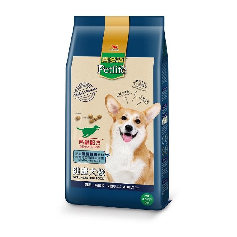 寶多福健康犬餐熟齡犬專用配方包3.5K
