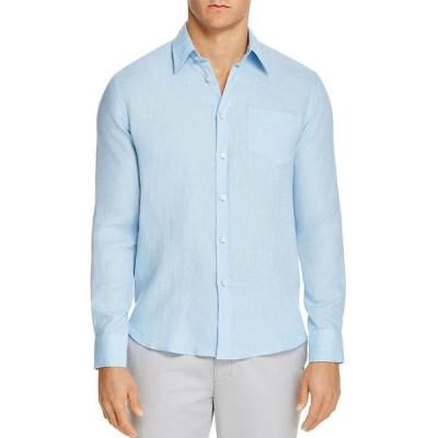 ヴィルブレクイン メンズ シャツ トップス Linen Regular Fit Shirt