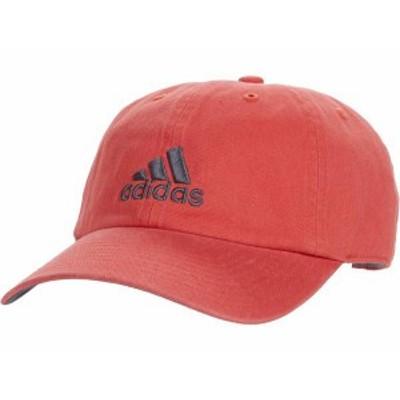 アディダス メンズ 帽子 アクセサリー Ultimate Relaxed Adjustable Cap Red/Crew Red/On