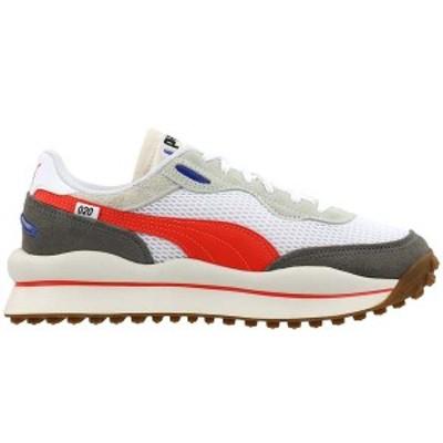 プーマ レディース スニーカー シューズ Style Rider Stream On Lace Up Sneakers Puma White / Vaporous