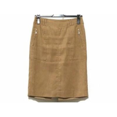 ピンキー&ダイアン Pinky&Dianne スカート サイズ38 M レディース 美品 ライトブラウン【中古】