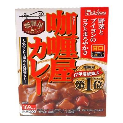 ハウス カリー屋カレー甘口200g【イージャパンモール】