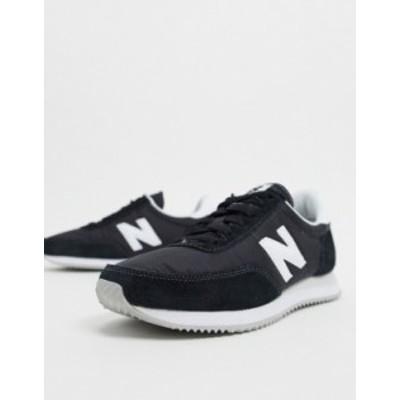 ニューバランス レディース スニーカー シューズ New Balance 720 sneakers in black Black